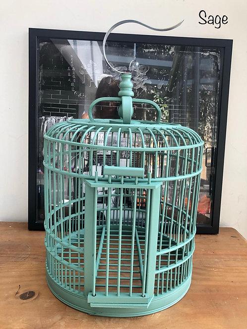Sage birdcage