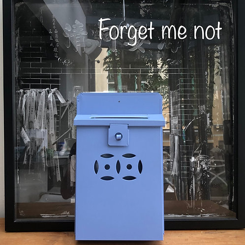 Forget Me Not letterbox
