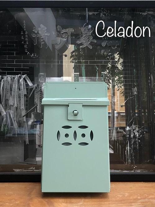 Celadon letterbox