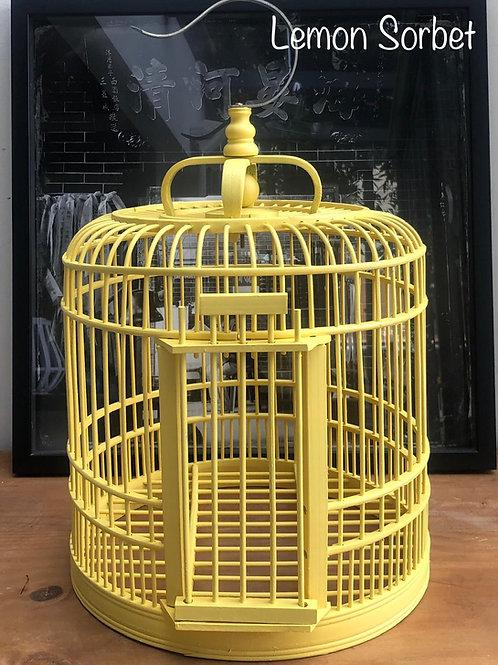 Lemon sorbet birdcage