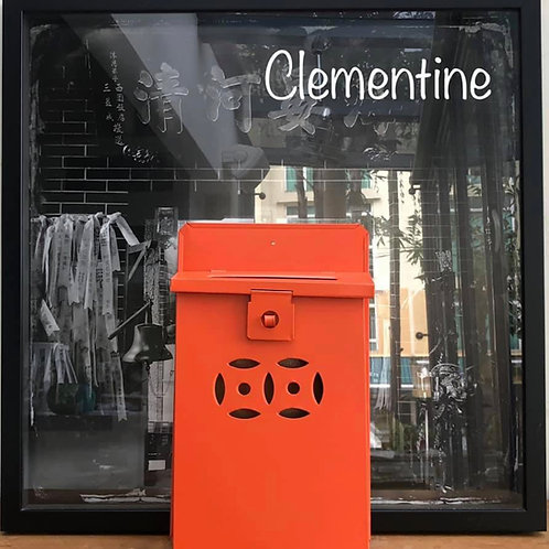 Clementine letterbox
