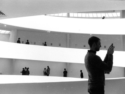 At the Guggenheim