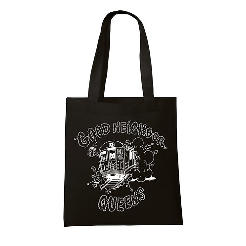 Good Neighbor Queens Record Tote Bag