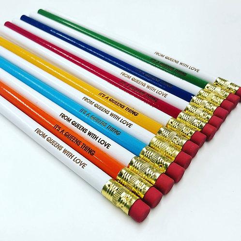 Queens Pencils 4-Pack