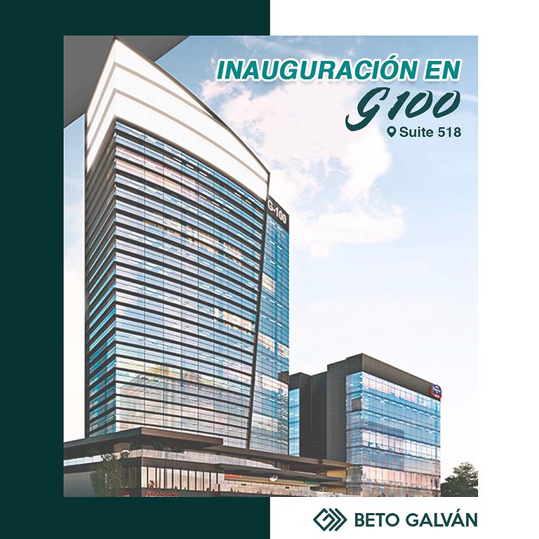 CHARLAS INAUGURACIÓN OFICINAS G100