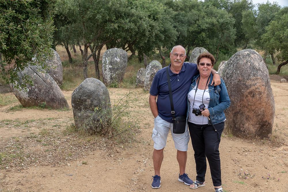Cromlech di Almendres Portogallo