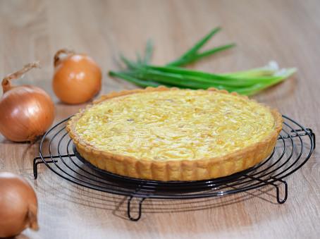 Torta salata di cipolle e patate