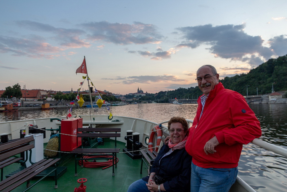 Crocera sulla Moldava Praga