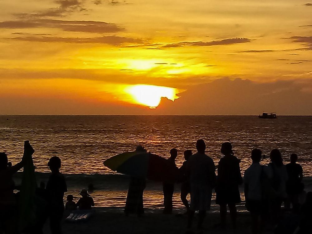 Tramonto a Kata Beach Puket