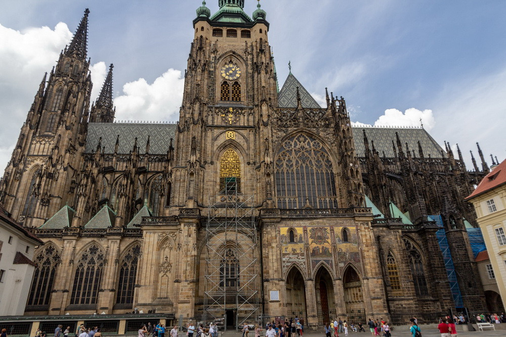 cattedrale gotica di San Vito Praga
