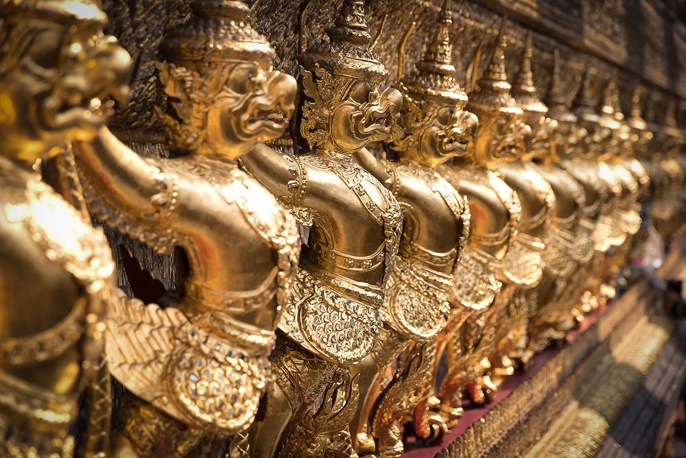Tempio del Budda di Smeraldo Bangkok