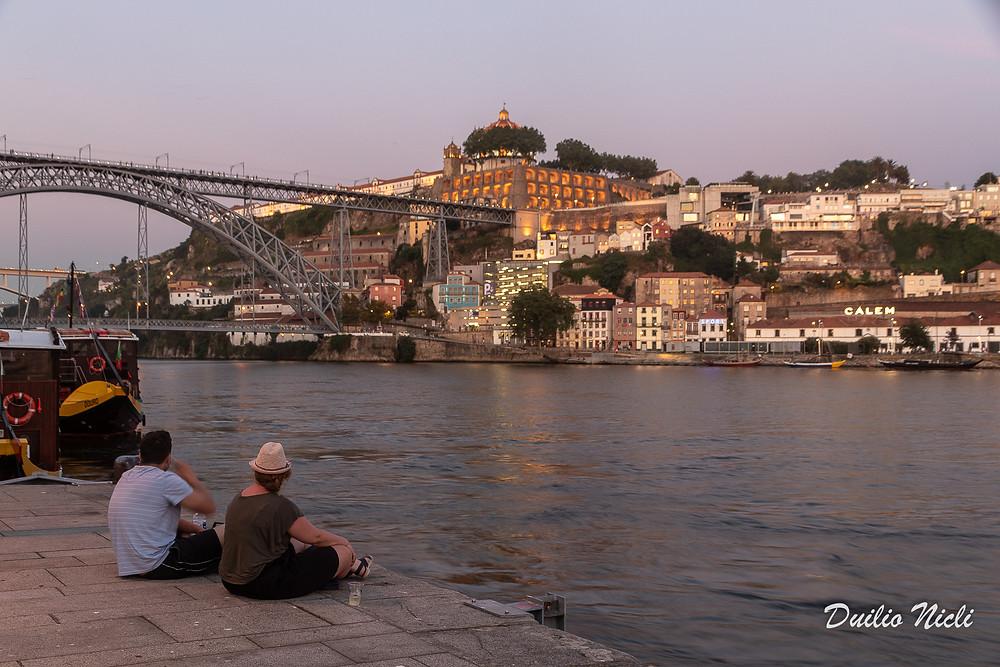 Sulle rive del Duero Porto Portogallo