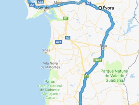 7. Viaggio in Portogallo - Evora e partenza da Lisbona