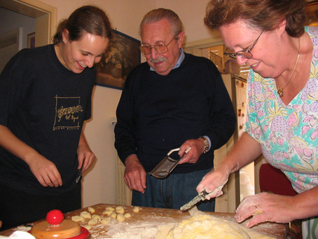 Gli gnocchi di patate - Ricordo di papà