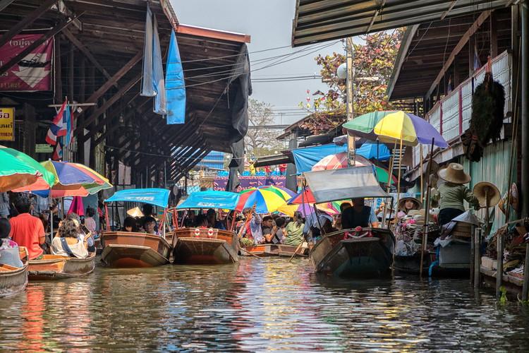 Mercato sull'acqua Damnoen Saduak