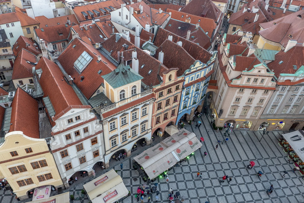 Torre dell'orologio Praga