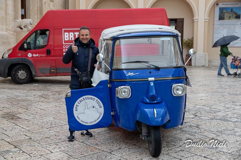 Giro  di Matera con il calessino di Antonio