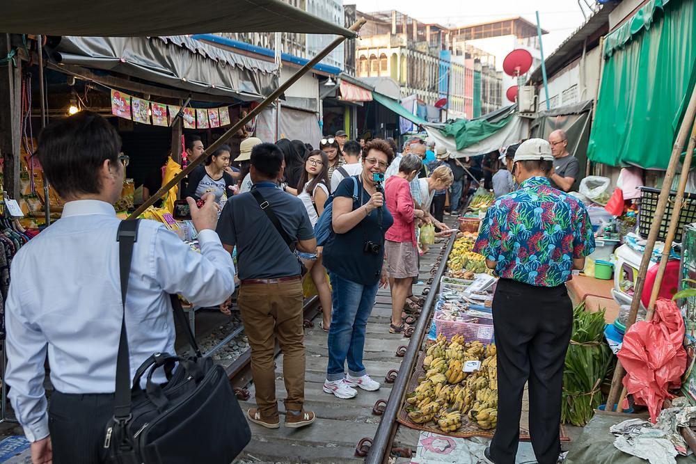 Mercato di Meklong
