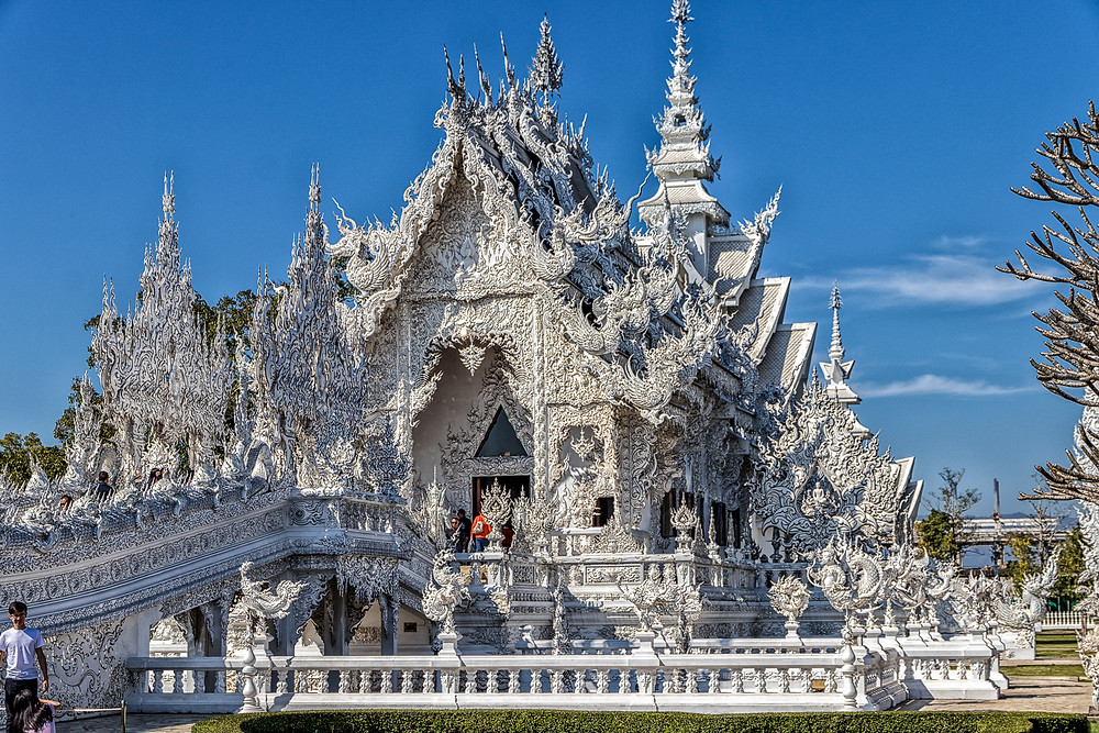 White Temple Thailandia
