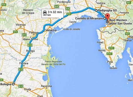 Trieste in tre giorni - maggio 2015 - 1 parte