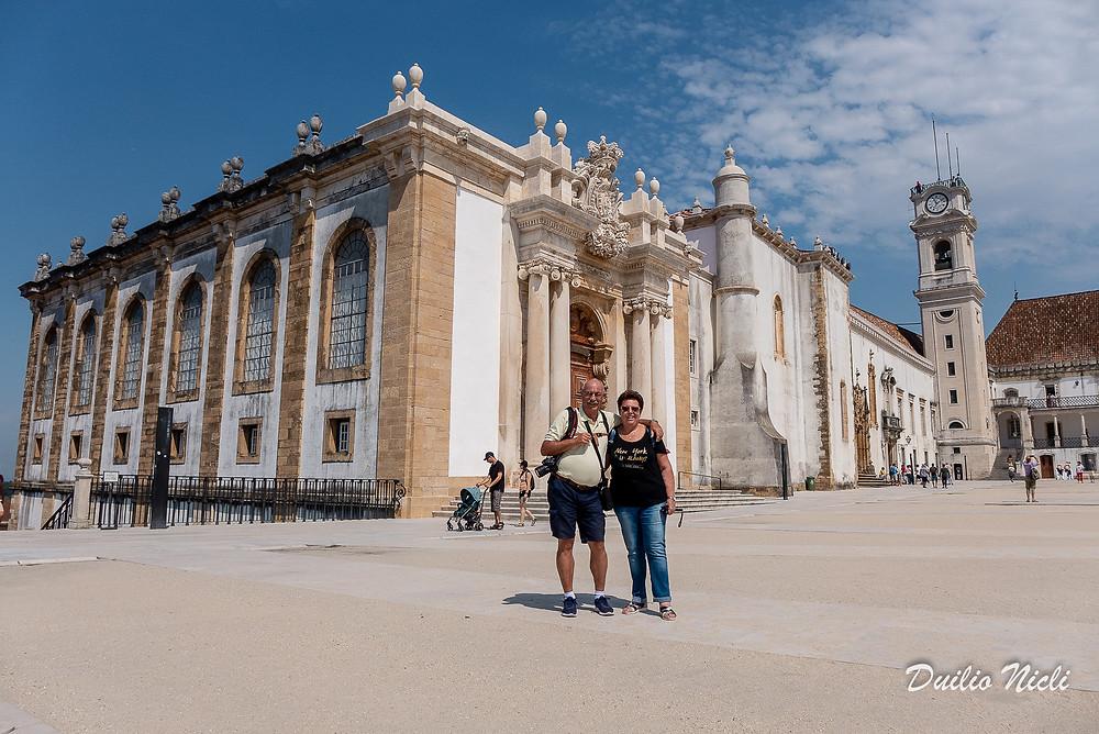 Coimbra - Biblioteca Joanina Portogallo