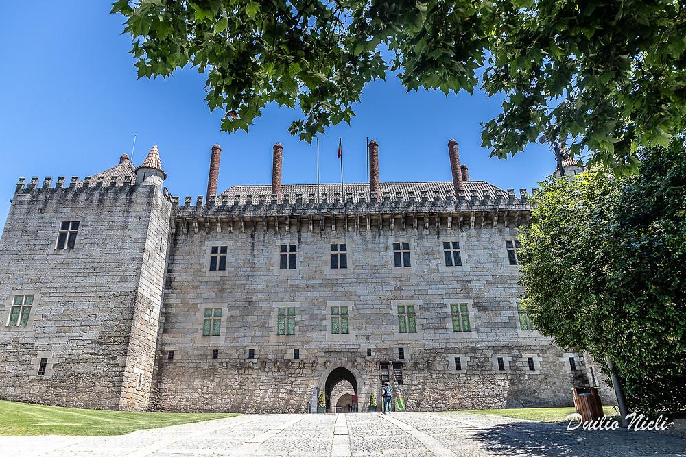 Palazzo dei duchi di Braganza Guimares Portogallo