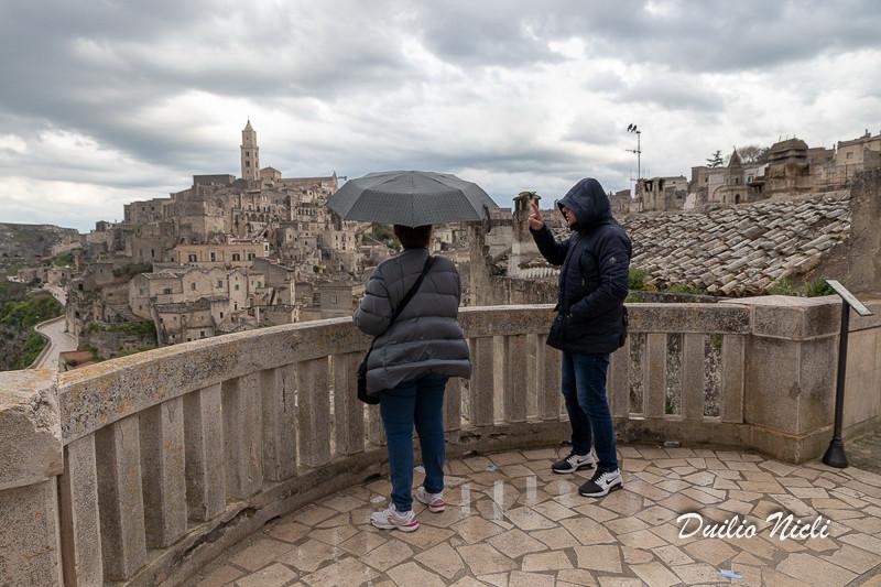 Panorama dal belvedere del Convento di Sant'Agostino sul Sasso Barisano