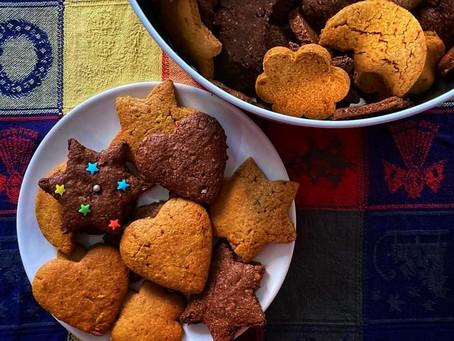 Biscotti alla farina e crusca di avena