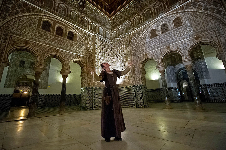 Palazzo Reale Alcazar a Siviglia