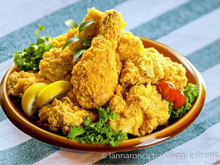 Pollo fritto speziato