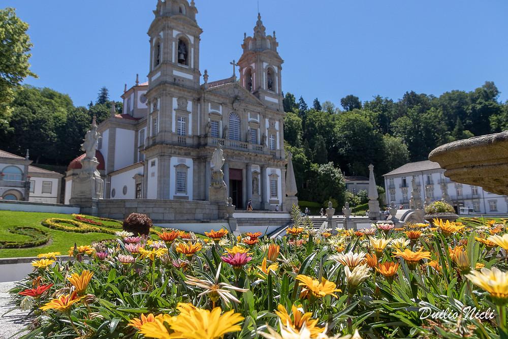 Santuario Bom Jesus do Monte Braga Portogallo