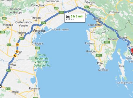 Viaggetto nell'isola di Krk in Croazia - 1 parte