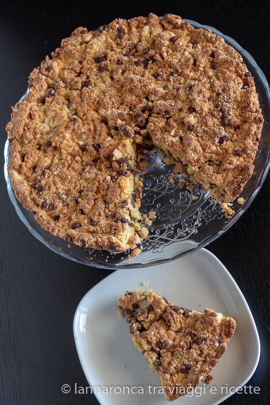 torta biscotto ripiena di nutella