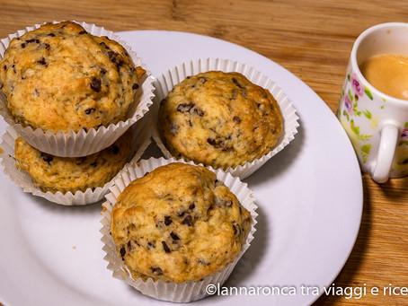 Muffin con le gocce di cioccolato
