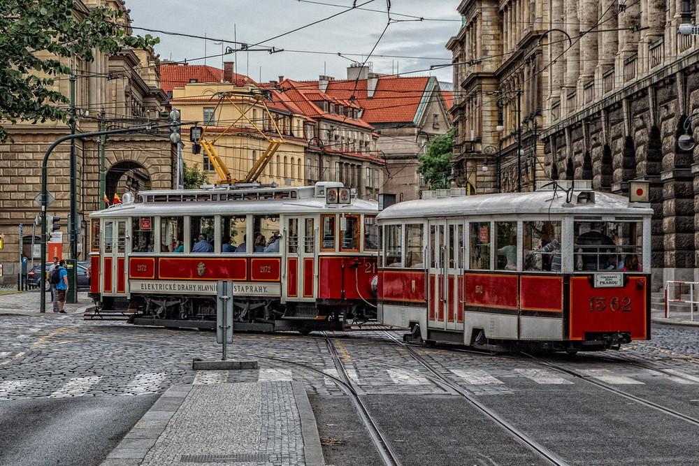 tram 22 Praga