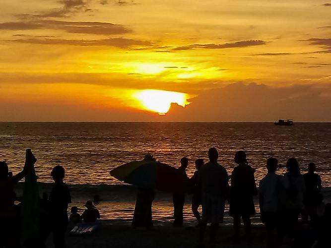 Tramonto a Phuket