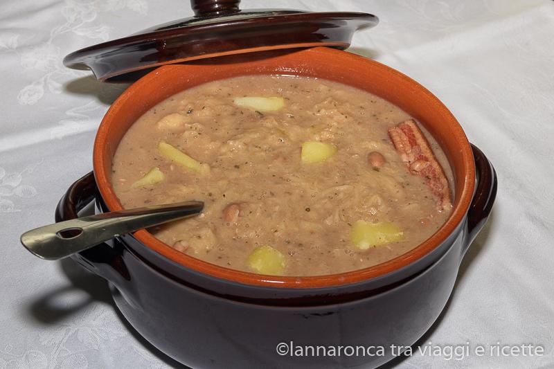 Ricetta della jota minestra