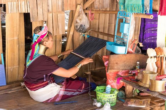 villaggio delle donne giraffa Chiang Rai