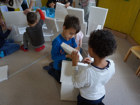 Nordpol Architektur im Kindergarten Thalia