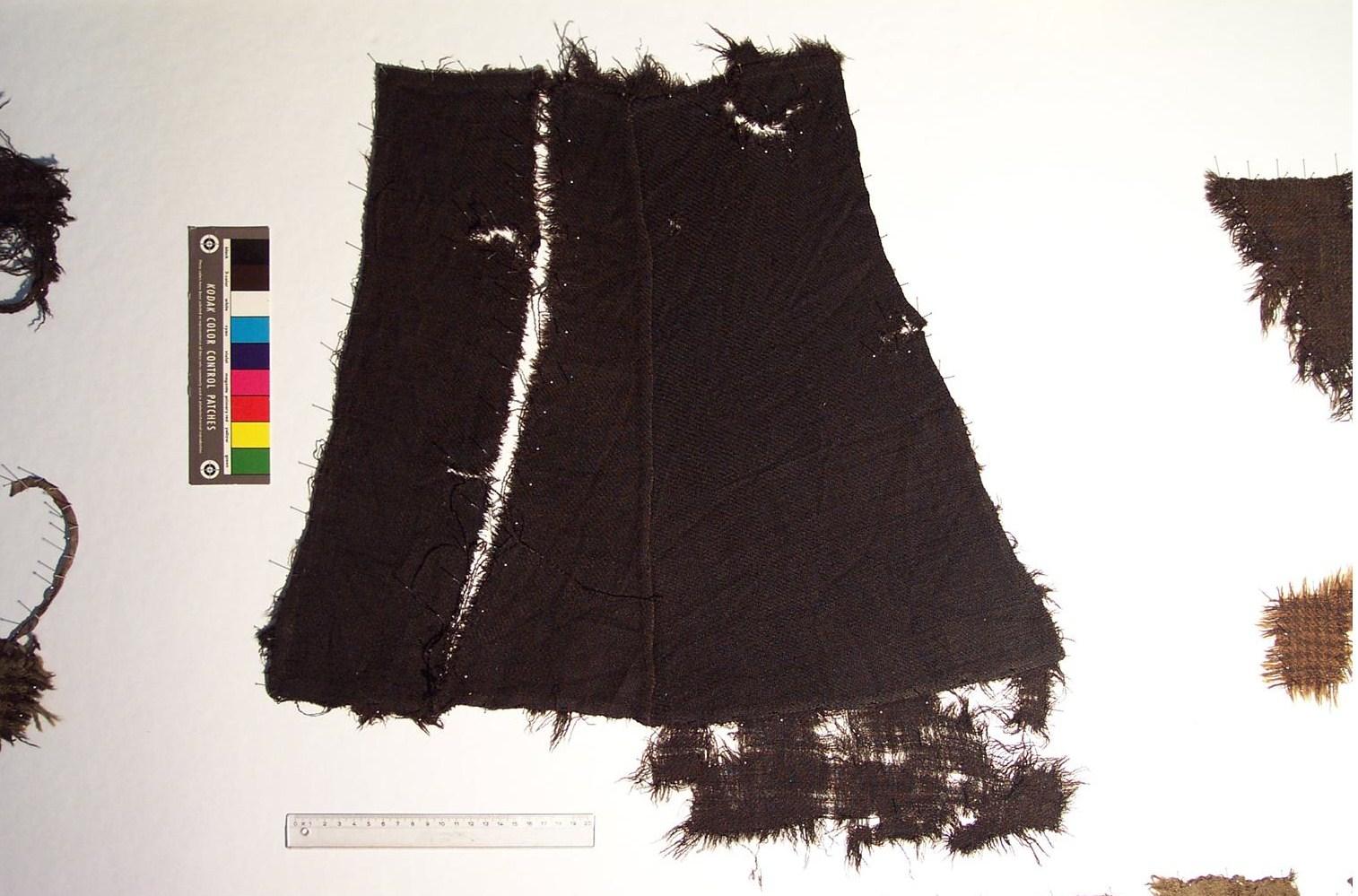two trapezes - probably a garment