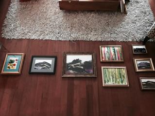 Art Show Prep Work