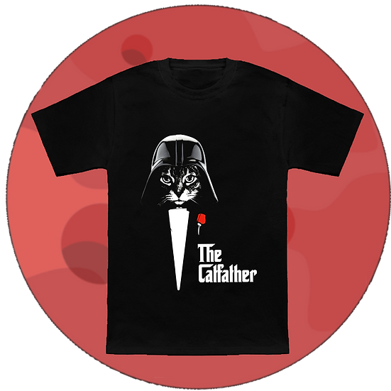 The Catfather Movie T-Shirt