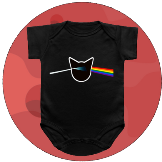 Dark Side Of The Mewn Baby Snap-suit & T-Shirt