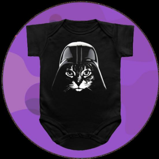 Samurai Cat Baby Snap-suit & T-Shirt