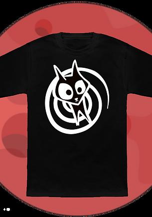 Spacecatz Spiral Cat T-Shirt