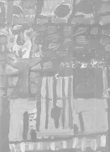 Painting age 5 b&w screened.jpg