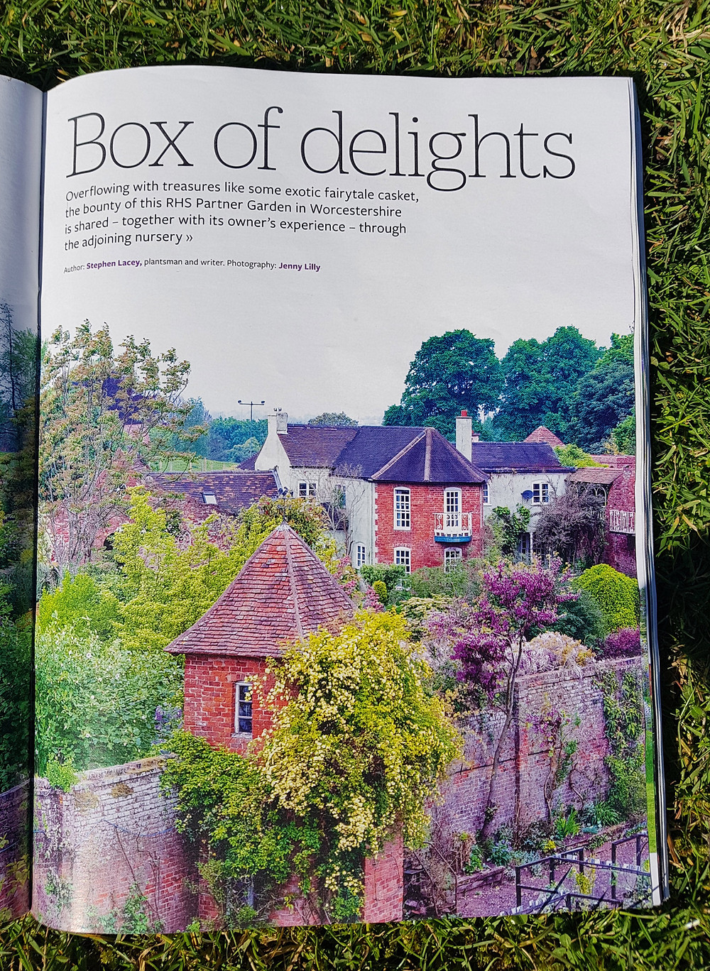 Box Of Delights - Overflowing with treasures like some exotic fairytale casket, the bounty of this RHS Partner Garden in Worcestershire is shared - together with its owner's experience - through the adjoining nursery.