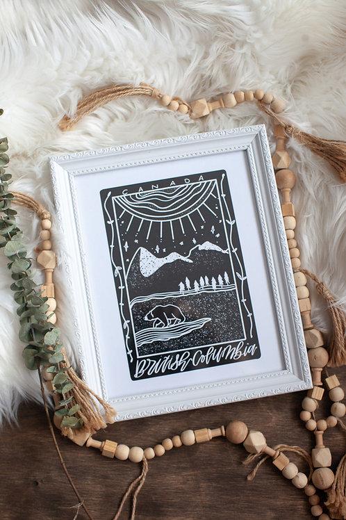 """✨ """"BC TAROT"""" 8x10 art print"""