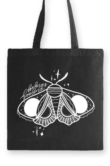 """FEELING + HEALING"" ~ tote bag 100% Organic Cotton, 6oz"