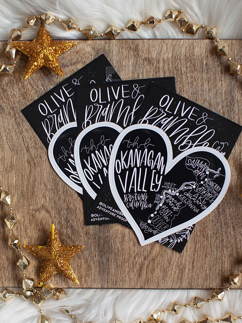 """HOLIDAY PACK 3~ """"OKGN FAMILY"""" 3x okgn map heart"""